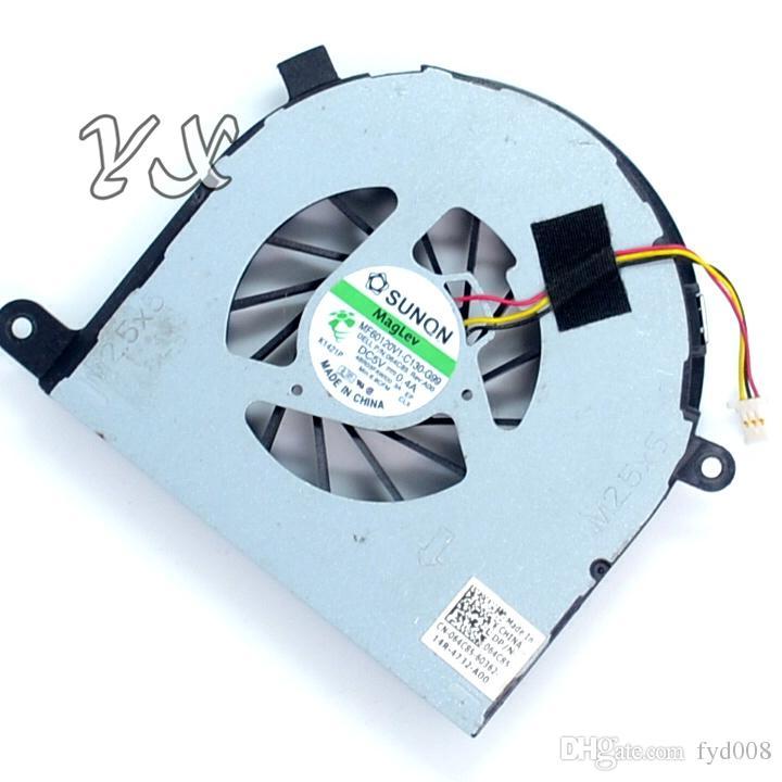 Nouveau ventilateur de refroidissement du processeur pour ordinateur portable Dell Inspiron 17R N7110, ventilateur de refroidissement du processeur, MF60120V1-C130-G99 064C85