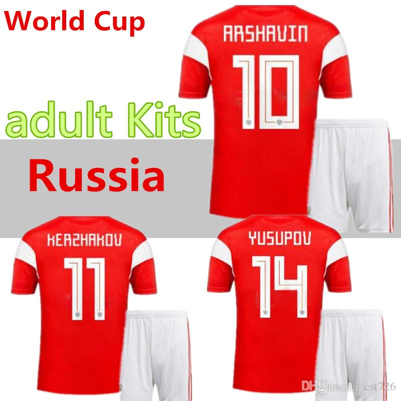 ede13ee10 Men Kit 2018 World Cup Russia Soccer Jerseys 2018  19 Home Red ...