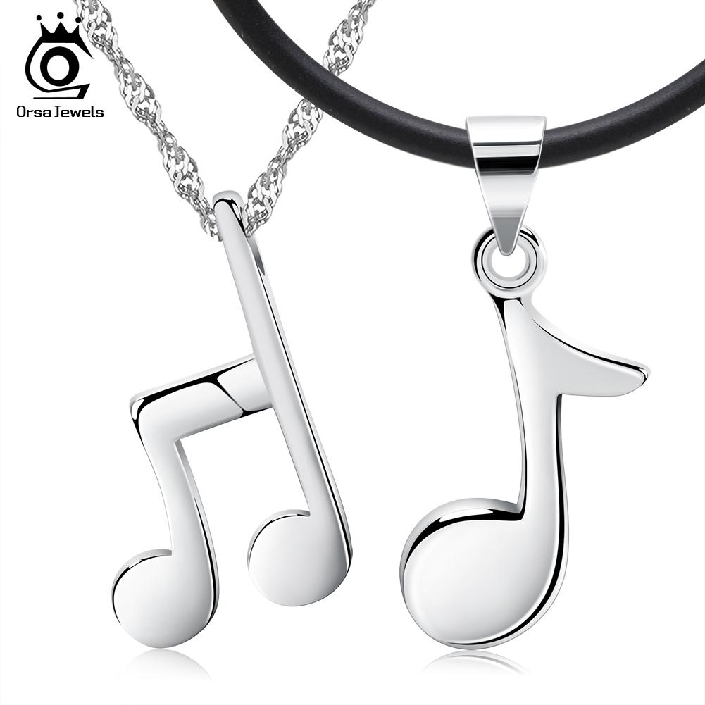 stainless de list lou note gold pendant steel bijoux musical product necklace cat ssteel plated