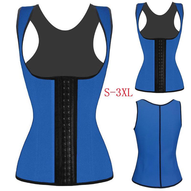 2016 Hot Sale Women Vest Bodyshaper Corset Latex Corset Sexy Women Waist Cincher Slimming Body Shaper Wear Plus Size W88011A