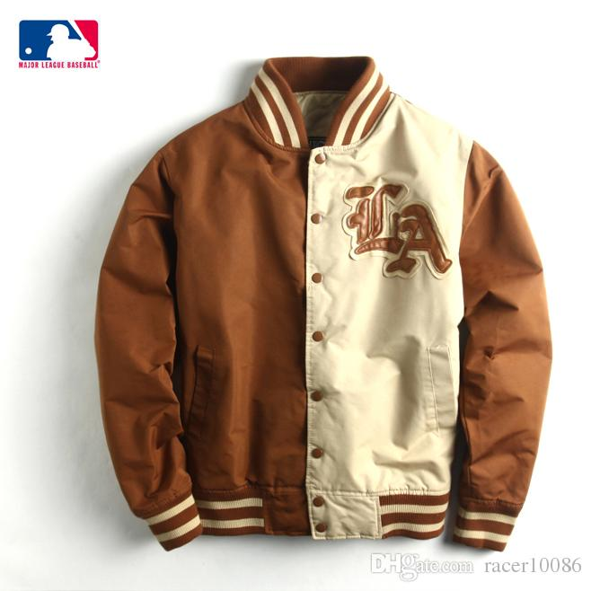 Los Angeles Dodgerswinter Baseball Male Jacket Korean Ny Clothing ...