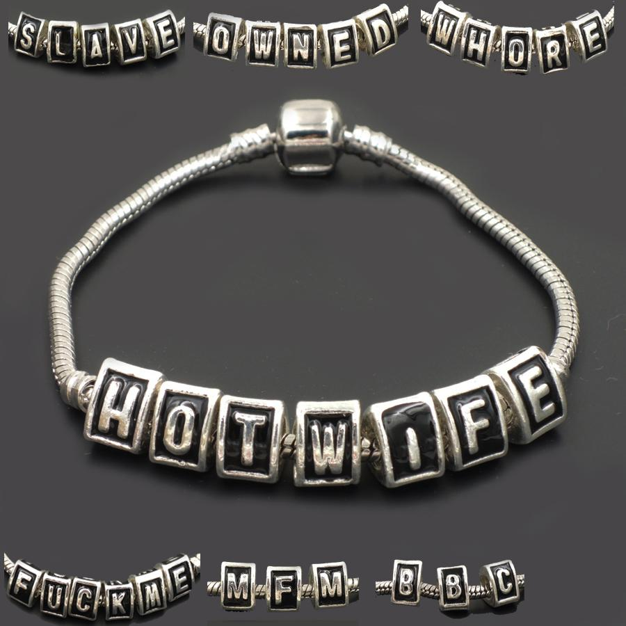 6d976e7c34802 Wholesale- BBC bracelet slave hot wife swinger fetish cuckold cck jewelry  queen of spades fmf sexy owned use me QOS LIFE STYLE F243