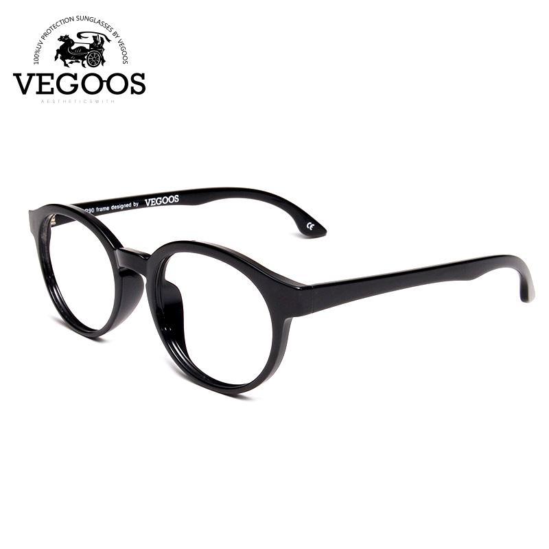 5ee4ebf62 Compre Atacado VEGOOS Marca Computador Olho Óculos De Armação De Óculos  Masculinos Armações Claras Lente Oculos De Grau Masculino Vidro # 5042 De  ...