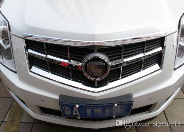 Ajuste de la decoración de la parrilla del coche del cromo ABS de la alta calidad, barra de la protección para Cadillac SRX 2010-2012