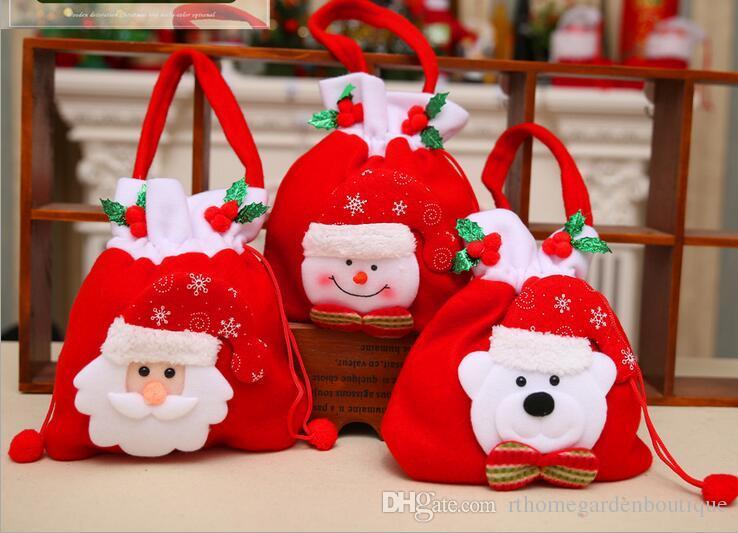 Christmas decorations christmas gift bags christmas candy bags