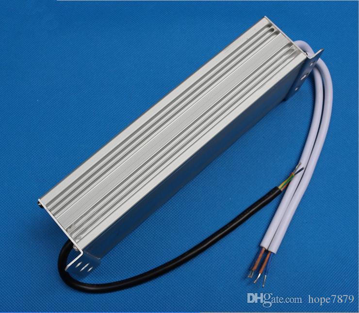 En kaliteli 150W su geçirmez LED güç kaynağı led sürücü Aydınlatma Transformers açık kullanım Çıkış DC12V 24V 36V giriş AC 90V ~ 130V / 170V ~ 250V