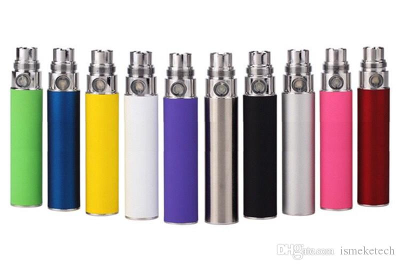 Ego T Battery Electronic Cigarette 510 Battery eGo-T 650/900/1100mAh Evod for CE4 CE5 T3S MT3 Clearomizer Atomizers Vape Vaporizer Pen Kit