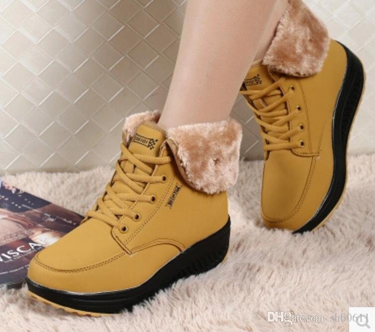 2017 High Quality snow boot Women's Classic tall Boots Womens boots Boot Snow Winter boots leather boot US SIZE 35-40