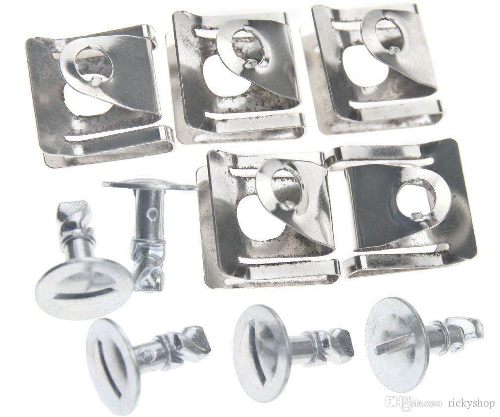 Kit de hardware de la cacerola de protección del motor Pin Pin Clip para Audi A4 A6 VW Passat