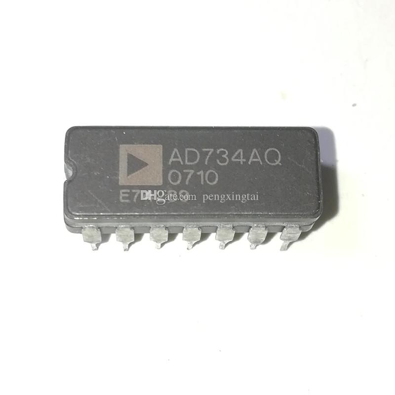 AD734AQ   ANALOG MULTIPLIER OR DIVIDER, 40 MHz BAND WIDTH, CDIP14,dual  in-line 14 pin DIP ceramic package IC / AD734 , 10 MHz, 4-Quadrant