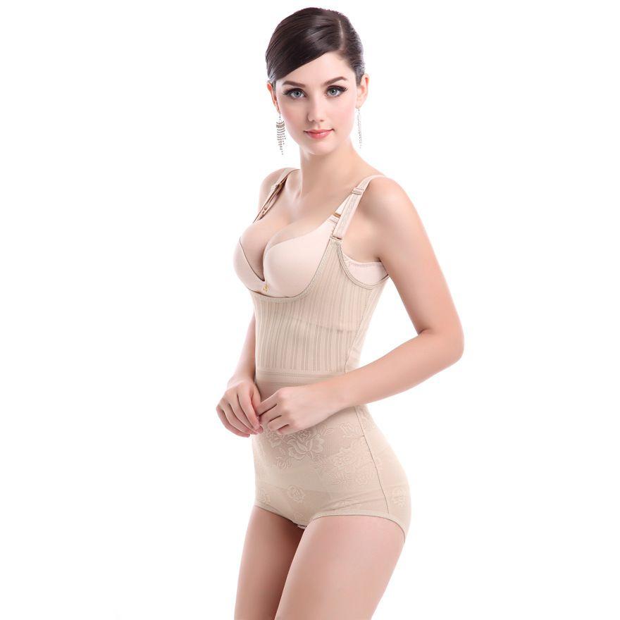 2017 Fashion Sexy Female shapers Bodysuits Slimming underwear Women Intimates Teddies Seamless Siamese Body sculpting Clothing