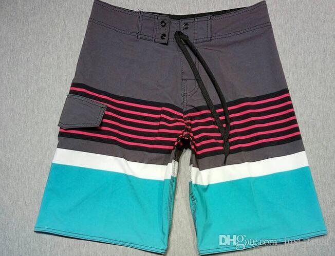 Top Popular Elastic Drawstring Hawaii Board shorts men summer beach PANTS surfing shorts Gym Yoga workout sports shorts Swimming TRUNKS
