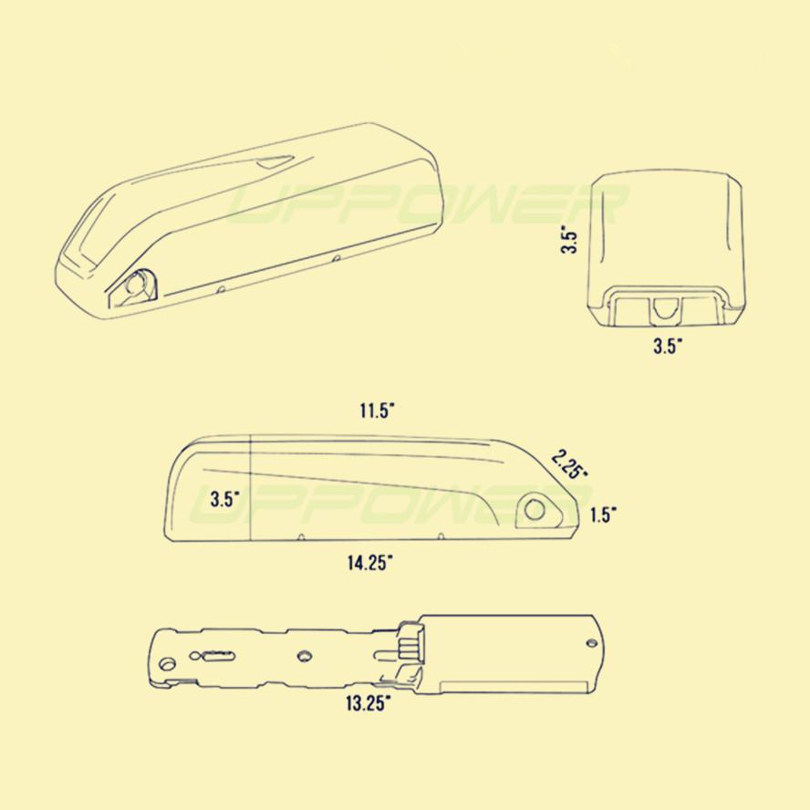 shark battery dimensions_
