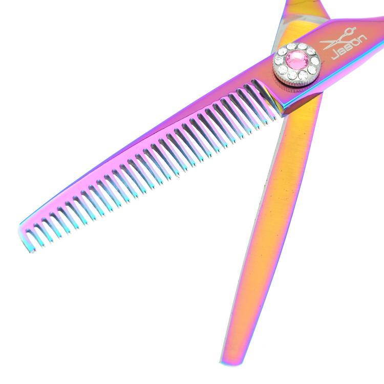6.0 Pouce Jason 2017 Nouvelle Arrivée Ciseaux De Coiffure À Gaucher Ciseaux De Coupe De Cheveux Ensemble Barber Salon Ciseaux Amincissants Sharp, LZS0484