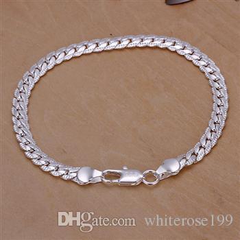 Großhandel - niedrigster Preis Weihnachtsgeschenk 925 Sterling Silber Fashion Halskette + Ohrringe set yS085