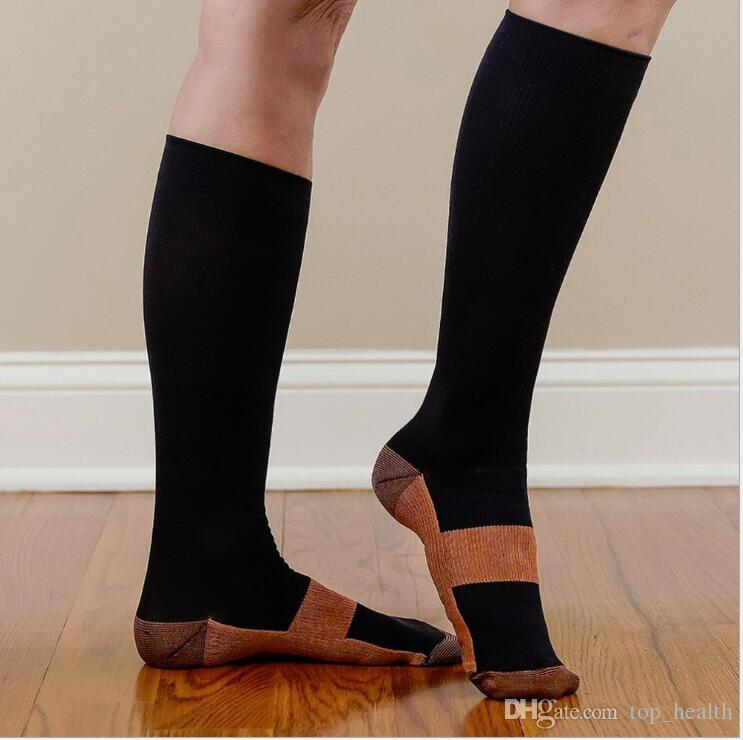4e33c9d340 Unisex Anti Fatigue Compression Socks Foot Pain Relief Soft Miracle Copper  Anti Fatigue Magic Socks With Retail Package KKA2089 Panty Shaper Slim  Inner ...