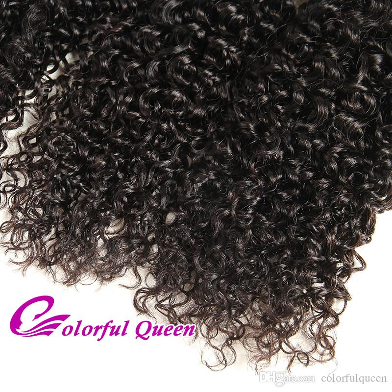 Top Quality Good Cheap Peruvian Kinky Curly Virgin Hair 4 Bundles Deals 100% Human Hair Weave Afro Kinky Curly Micro Braids Online Sale
