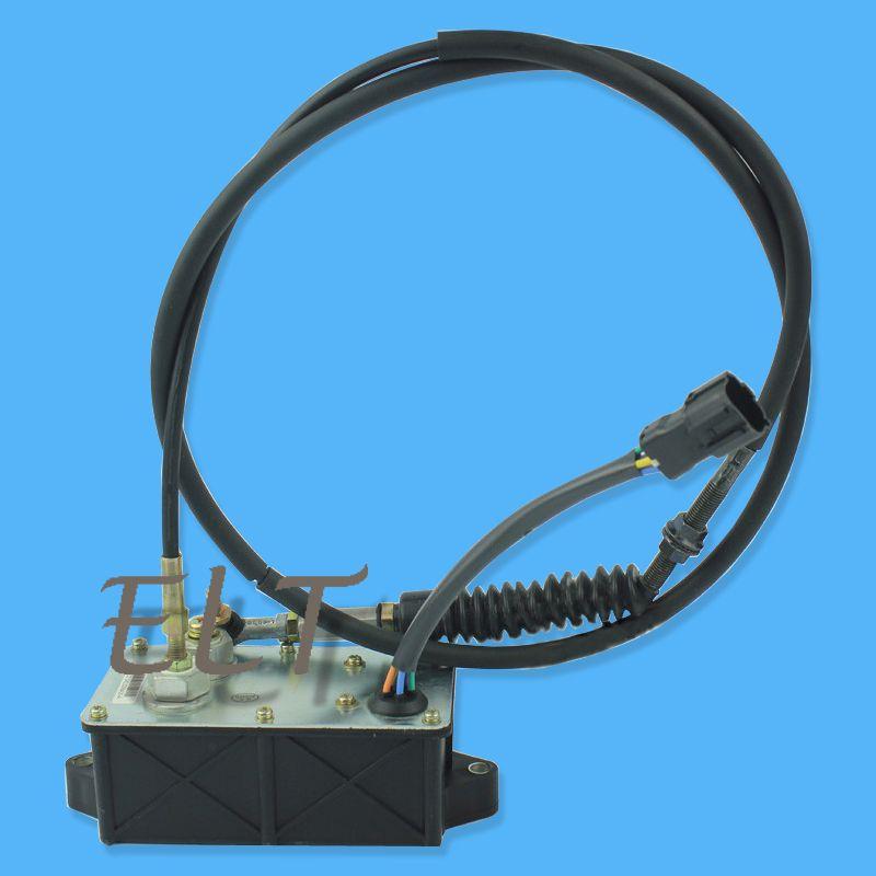 Sany Excavator AC2 AC2000 SY65/75 Throttle Motor 012941 Engine Control  Accelerator Motor
