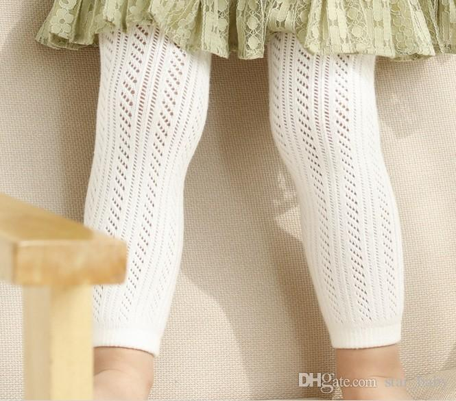 Korean Style New Spring Summer Kids Stocking Dress Good Match Baby Girls Ankle Length/Pantyhose Leggings Fishnet Stocking Kids Clothes Q0889