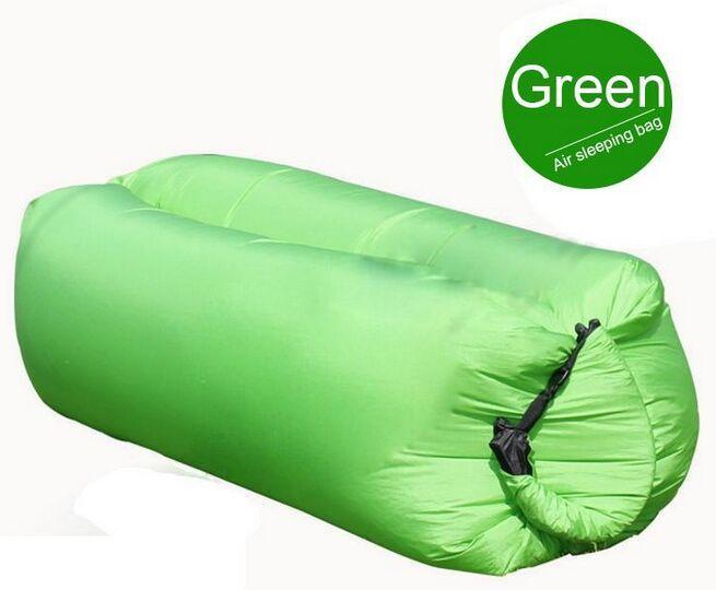 Chaise de sofa gonflable paresseux de sofa de sac de sommeil de salon, coussin de sac de haricot de salon, meubles extérieurs faits sur commande de camp de meubles de pouf gonflés