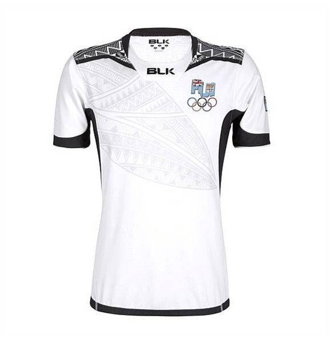 171a134756a Thai Quality New Zealand 2017 Jerseys New Fiji Rugby Shirt 2016 ...