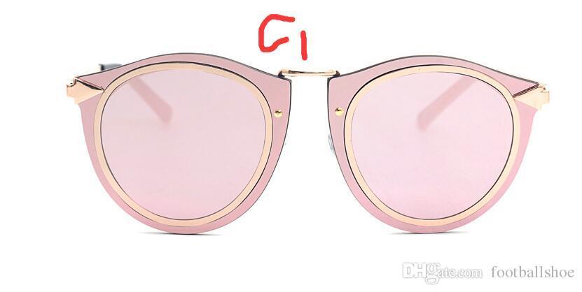 Nueva llegada streetwear es UV400 Big marco de moda de metal arrow gafas de sol Accesorios de moda mujeres populares hombres gafas 8342