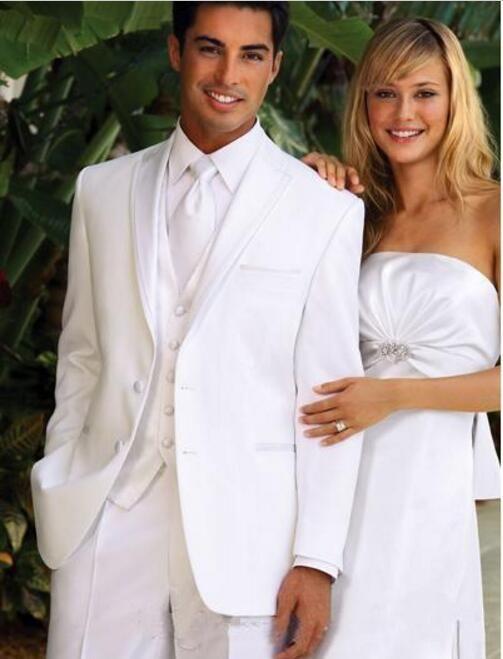 2017 White Wedding Tuxedos The Best MenS Fashion Dress