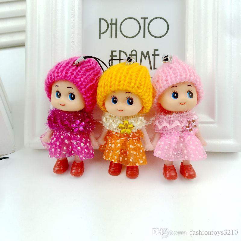 Hot selling Cute Mini Ddung ddgirl Dolls Keychain Pendant Fashion Popular Gum Dolls Girl Toys good Promotional gift for girl Plush Toys
