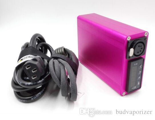 Портативный Titanium Dnail электрический dab ногтей PID контроль температуры воск ногтей Dnail комплект воск испаритель 16 мм 20 мм буровая установка dabber box стекло бонг