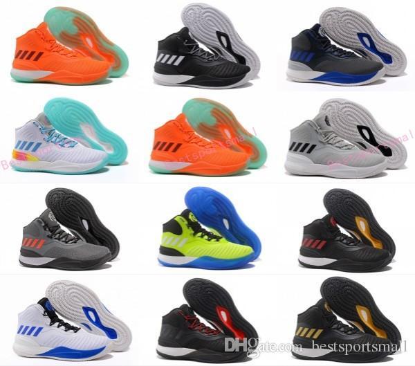Hot D Rose Baketball Shoes Men Boots 8 Ix Blue Christmas Sneakers