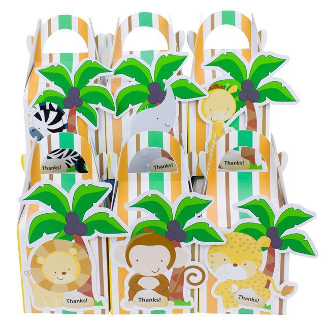 Wholesale Baby Shower Favors Safari Animal Wild Favor Box Candy Box  Souvenir Boy/Girl Kids Event U0026 Party Supplies Beach Party Decorations Beach  Party Favors ...