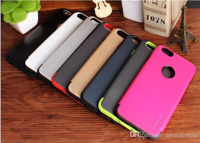 il caso di Iphone 5S lusso CASEOLOGY dura del PC + TPU copertura posteriore di Neo ibrida antiurto di protezione Shell Dual Layer Cellulare Bags5 5S 6S 6Plus