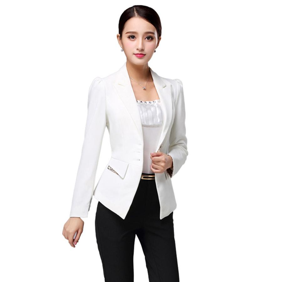 2019 Office Wear Ladies Blazer Suit Jacket Coat Outwear ...