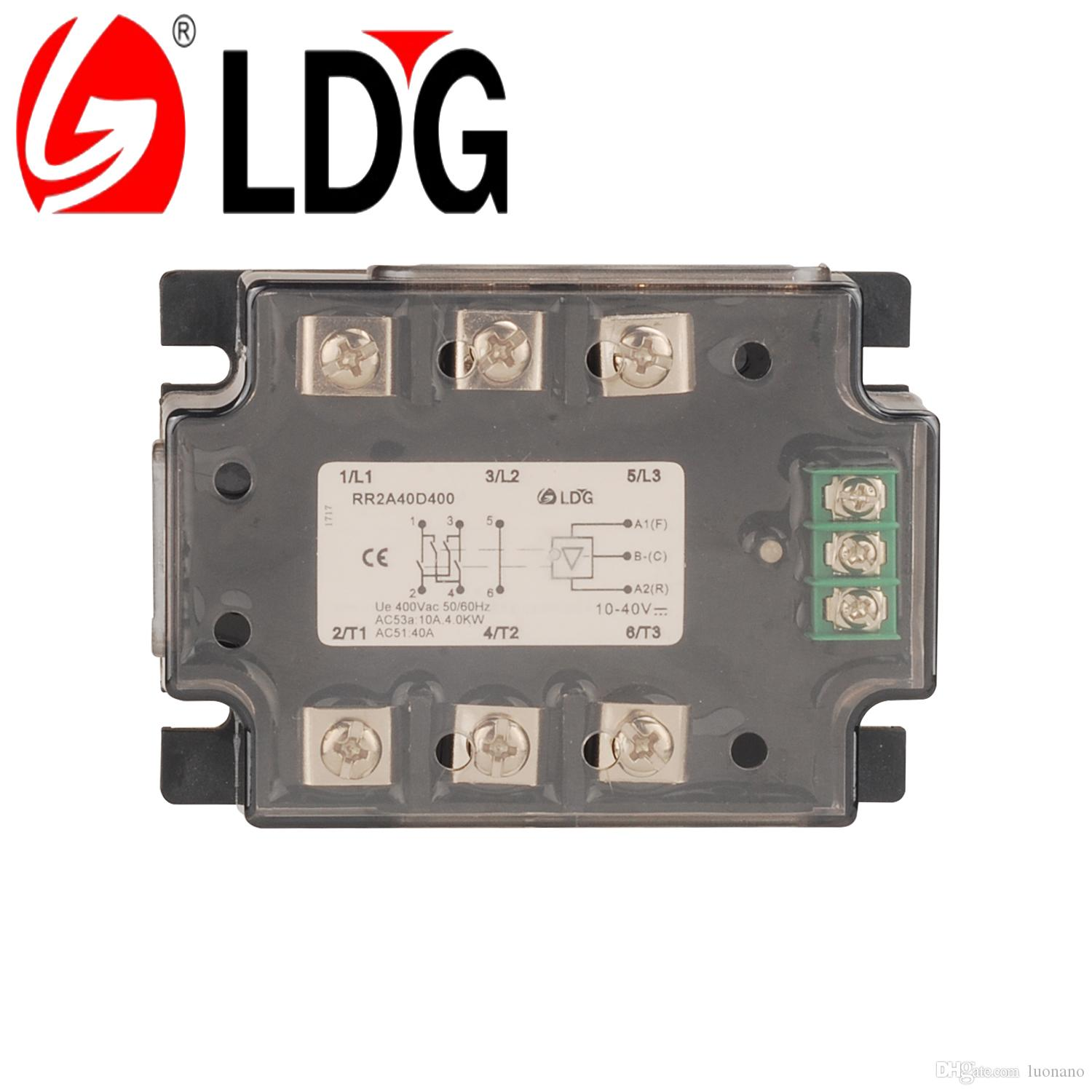 2018 ldg motor reversing solid state relay rr2a40d400 industrial see larger image sciox Gallery