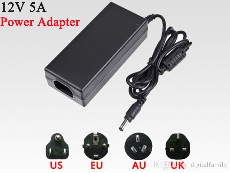 5M Led Strip 5050 SMD RVB Étanche 300 LED / Rouleau avec 44 touches Télécommande IR avec 12V Adaptateur secteur 5A directement utilisé