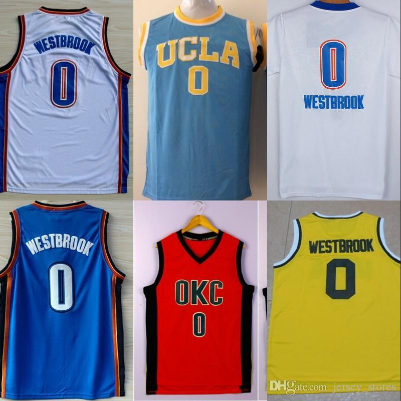 ... france basketball jerseys 100 top quality f4c27 55990 großhandel  basketball trikots neueste 0 russell westbrook trikot 2e646e2cf