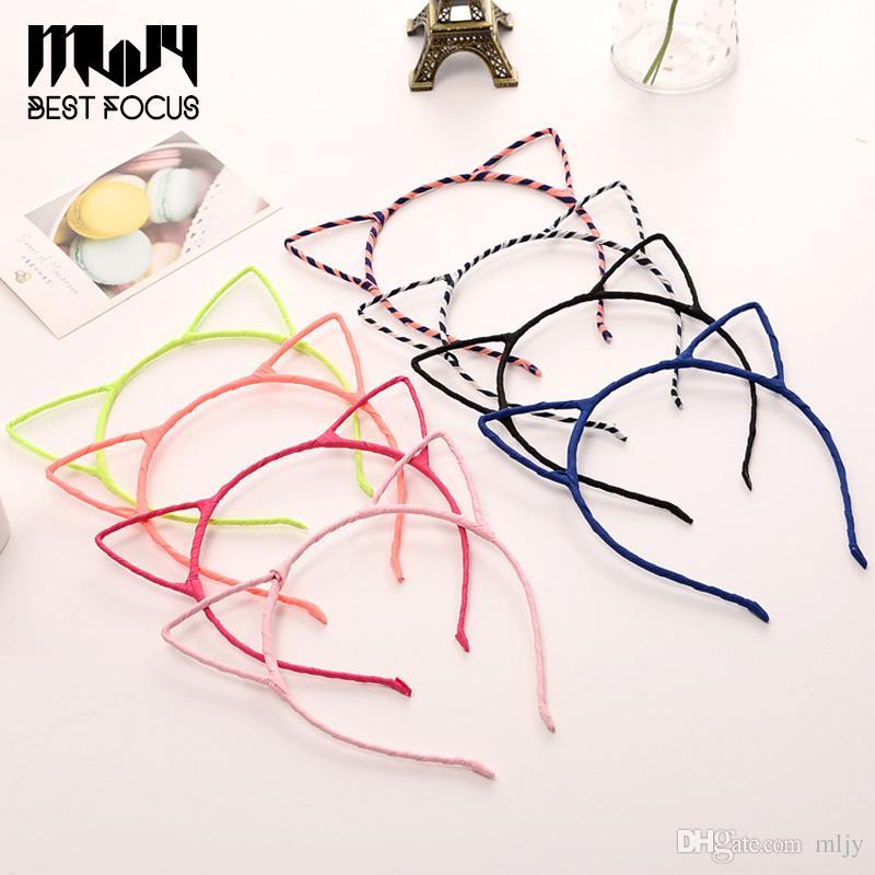 MLJY moda carino tessuto semplice fascia capelli testa fascia regalo di partito orecchie di gatto copricapo accessori capelli /