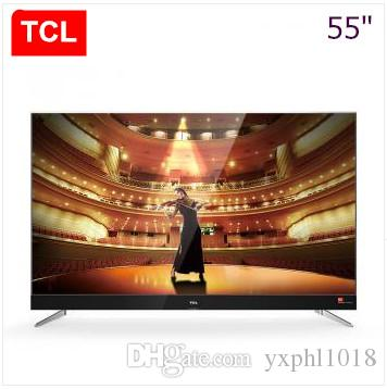 TCL 55 Inch Slim Alloy Harman Kardon Intelligent Flat Panel TV 4K Ultra High Definition Theater Hot New Product! 50 Tv 60 From Yxphl1018,