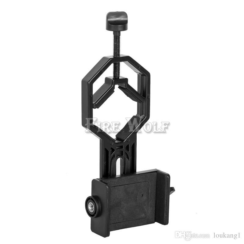 YANGıN KURT Evrensel Cep Telefonu Adaptörü Dağı-Dürbün Monoküler Spotting Kapsam Teleskop ve Mikroskop ile Uyumlu adapte