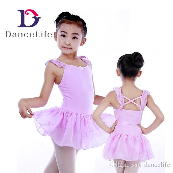 9875b238a497 2019 Child New Ballet Dress C2148 Girls Latin Dance Dress Wholesale ...