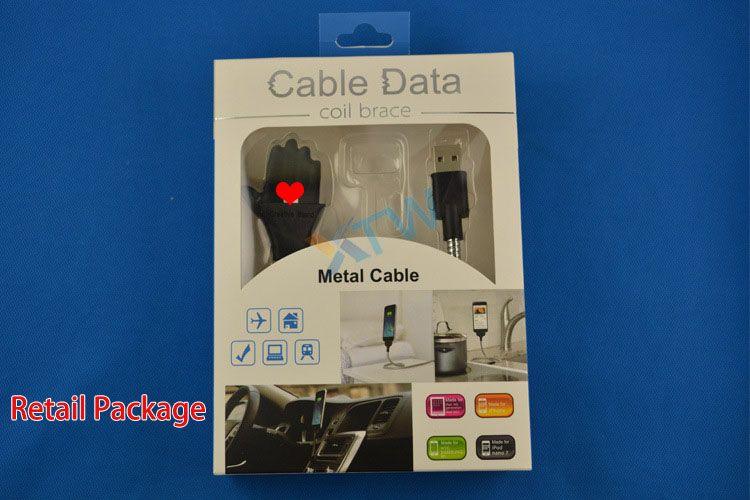 Neues Metallhandy-Aufladungsstand-Datenkabel-Stativ-Aufladeeinheits-Dock USB-C Typ-C Mikro für androides Universal-DHL-freies Verschiffen