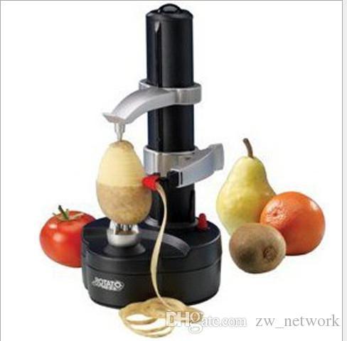 Peladora de manzana eléctrica multifunción Máquina para pelar patatas Zesters Peladoras automáticas zesters con adaptador de corriente mejores herramientas de cocina