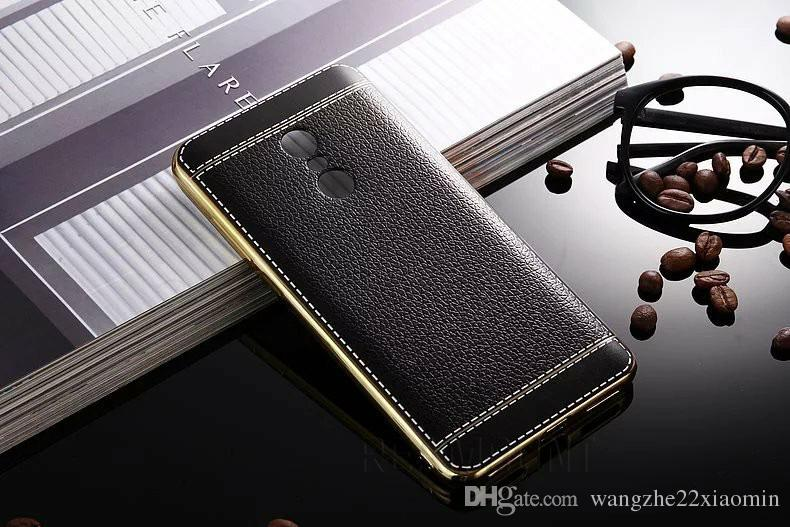 Luxury Litchi Leather Patten TPU Ultra Thin Mobile Phone Case Cover for red mi note2 note 3 note 4 for redmi pro Case Cover