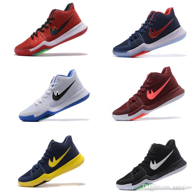 ed46be09bbb2 New High Quality Original Kyrie 3 Irving Shoes Men Irving Basketball Shoes  Sneakers Online Wholesale Us