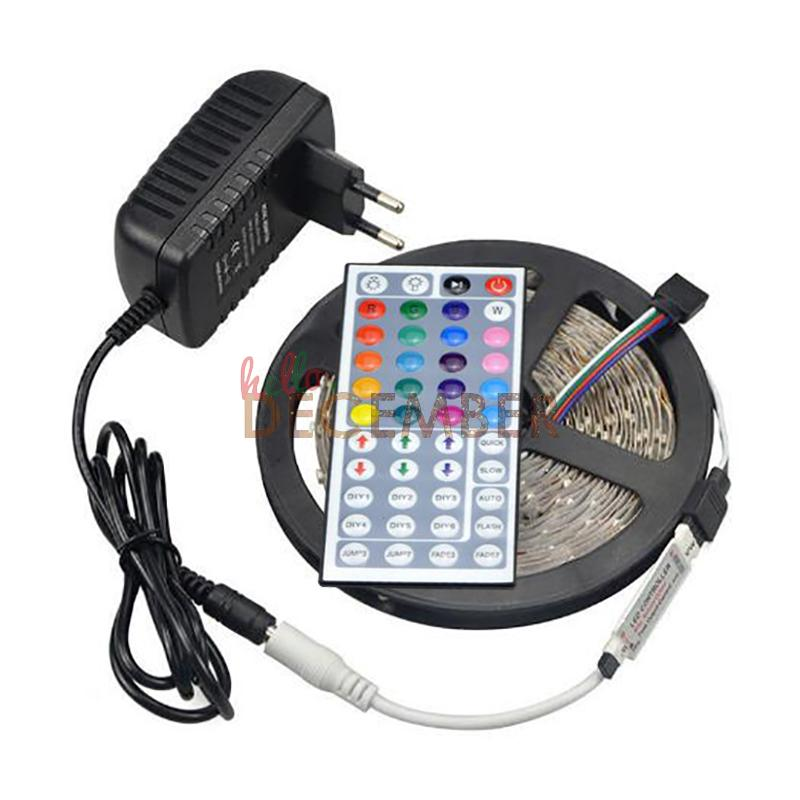 Ip65 waterproof rgb led light strips dimmable 12v 5m 300 leds ip65 waterproof rgb led light strips dimmable 12v 5m 300 leds smd3528 rgb 16 colors changeable led strip lights 5m led strips 5m led strip light 5m led aloadofball Images