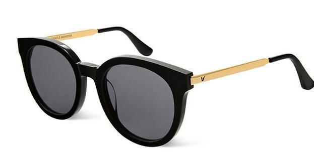 Estilo de moda V Marca DIDI A Gafas de sol polarizadas Diseño de marca Gafas de sol Gafas de sol Feminino gafas de sol redondas con caja