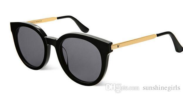 Fashion Style V Marca DIDI A Occhiali da sole polarizzati Donne Brand Design Occhiali da sole Oculos De Sol Feminino occhiali da sole con montatura rotonda con scatola