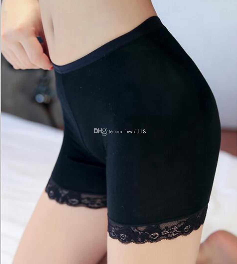 Caldo ! 20 pezzi estate moda ragazze leggings corti pizzo breve leggings le ragazze pantaloni di sicurezza pizzo Stretch brevi leggings