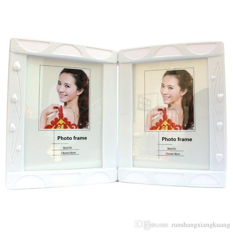 7-inch Double-sided Frame Cute European Creative Plastic Picture ...