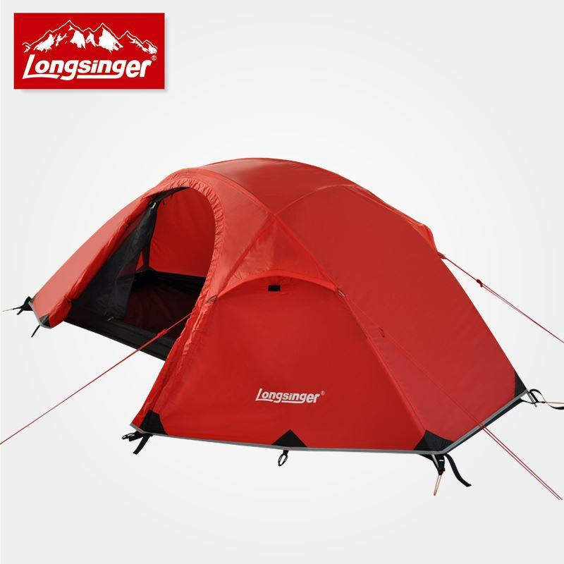 Silicon Ultra Light Single Person Double Layer Aluminum Rod Outdoor C&ing Alpine Tents Winter Tent One Man Tent Black Wolf Tents From Freehappy ... & Silicon Ultra Light Single Person Double Layer Aluminum Rod ...